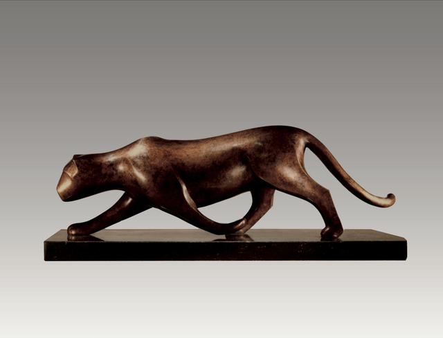 , 'Panther Stalking,' , Robert Hooke Sculpture Gallery