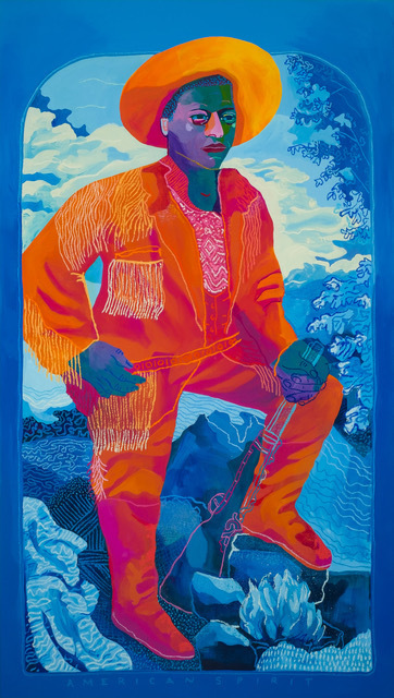, 'American Spirit (Blue),' 2019, Rebecca Hossack Art Gallery