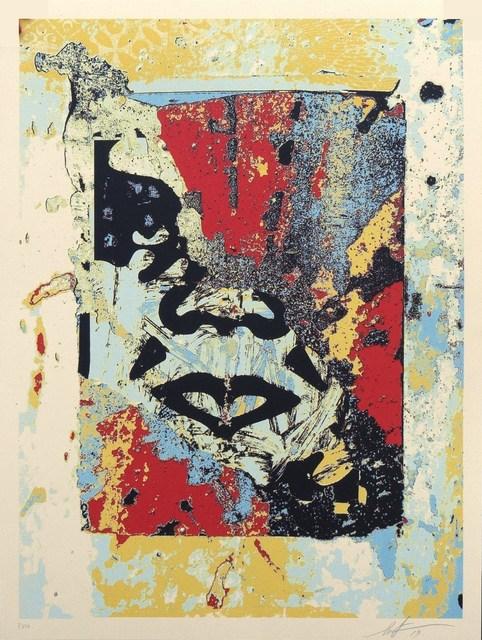 Shepard Fairey, 'Enhanced Disintegration (Red)', 2019, Blackline Gallery