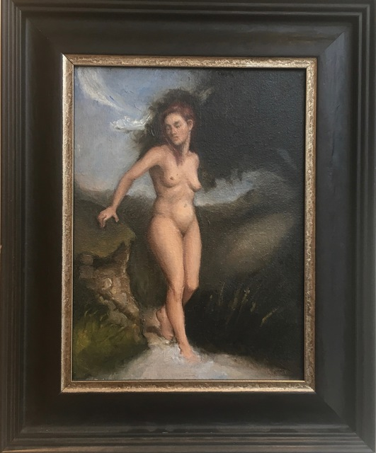 , 'Nude in an imagined landscape,' ca. 2018, Robert Eagle Fine Art