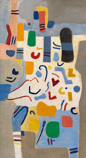 Caziel, 'Composition 1967.3 (Pesto)', 1967, Painting, 1967, Whitford Fine Art