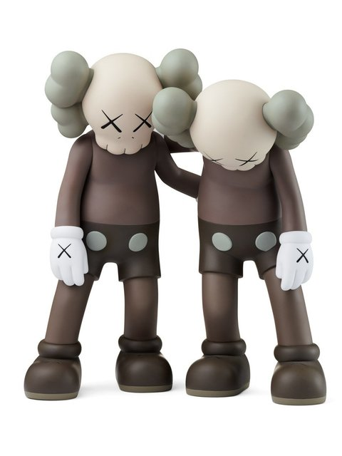 KAWS, 'ALONG THE WAY (BROWN)', 2018, Marcel Katz Art