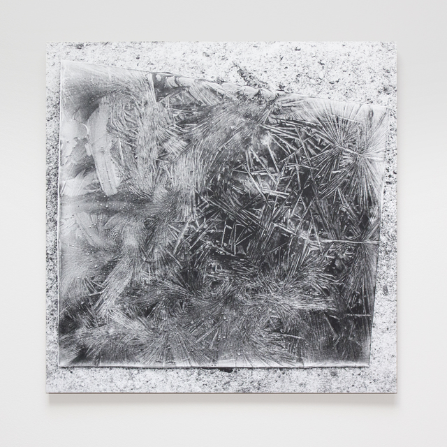 , 'Mountain Plate (Frozen Plates, Collaboration with the Cold),' 2015, SILAS VON MORISSE gallery
