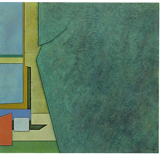 Gunther Gerzso, 'Amarillo-Rojo-Verde', Sotheby's