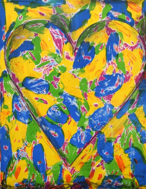 Jim Dine, 'The Blue Heart', 2005, Georgetown Frame Shoppe
