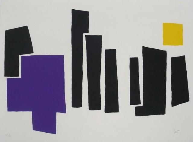 , 'Vista superior de nueve torres,' 1989, Galería La Caja Negra