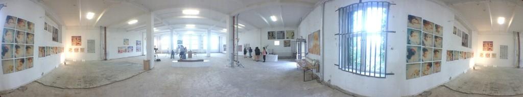 "Panorama interior ""Instantdreams gallery"" opening"