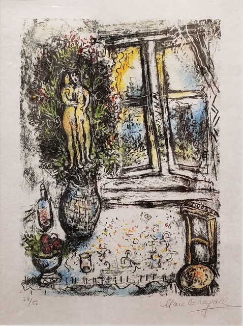 Marc Chagall, 'La Fenêtre Entrouvert ', 1975, Off The Wall Gallery