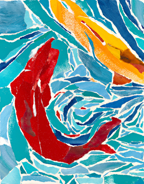 , 'Two Fish,' 2018, Tiffany's Art Agency