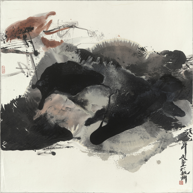 Jinsong Yang (b. 1955), '墨境系列十二 Ink realm No.12', 2014, Painting, Mixed media, Quantum Gallery