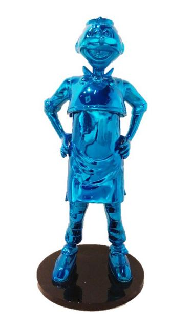 , 'Old Master Q Life-Size Sculpture - Blue,' 2015, Galerie Huit