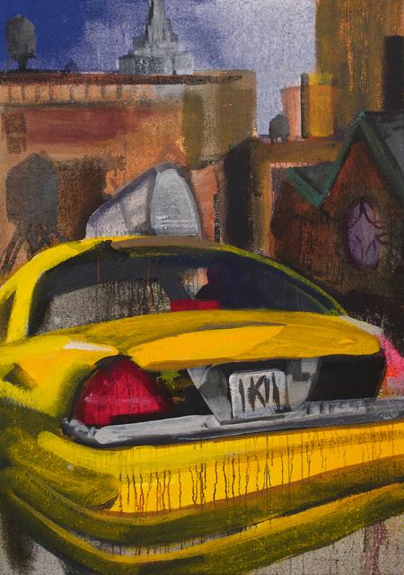 , 'taxi vor limelight (discoteque),' 2014, Galerie Thomas Fuchs