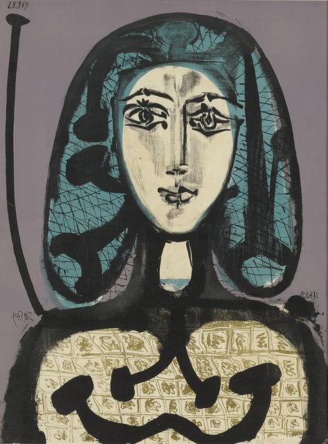 Pablo Picasso, 'La Femme à la Résille (Femme aux Cheveux verts)', 1949, John Szoke