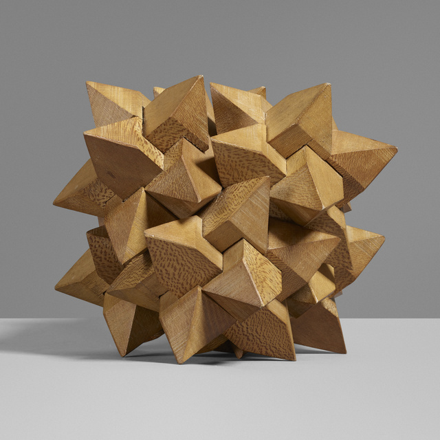 'Table puzzle', c. 1935, Other, Beech, Rago/Wright