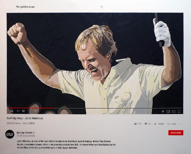, 'Golf My Way,' 2020, Axiom Contemporary