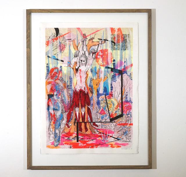 , 'Marsyas,' 2018, Galerie Britta von Rettberg