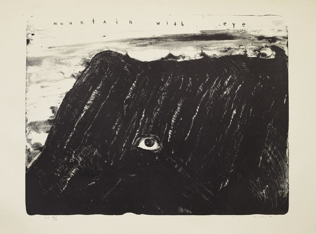 , 'Mountain with Eye,' 2009, Galerist