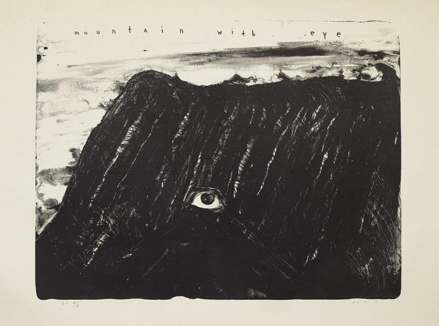 David Lynch, 'Mountain with Eye', 2009, Galerist
