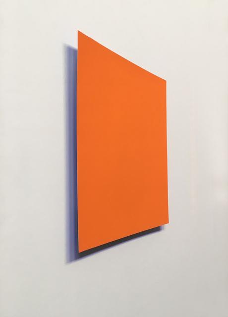 , 'Orange: Blue,' 2018, Galerie Wenger