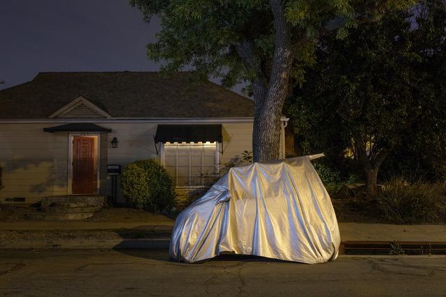 , 'Sleeping Car, Brighton Street ,' 2013, Fahey/Klein Gallery