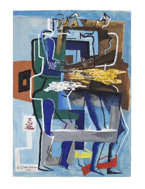 Ossip Zadkine, 'Le pacte d'amitié', ca. 1995, Steven Graven Modern & Contemporary Art