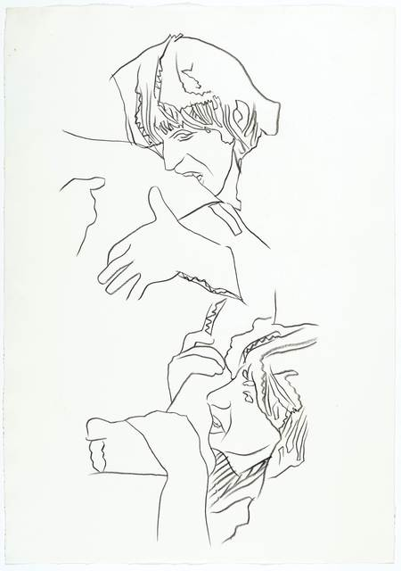 Andy Warhol, 'Rolling Stones – Love you Live (Keith Richards and Ron Wood)', ca. 1975, Koller Auctions