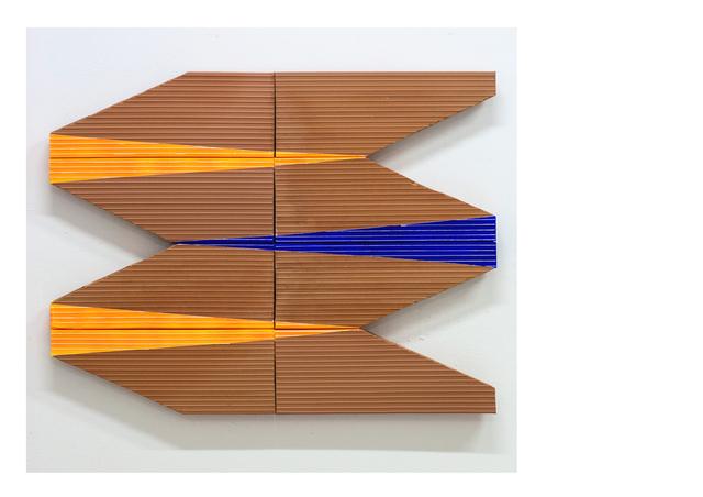 Oscar Abraham Pabon, 'Remanente 6', 2018, Installation, Acrylic on clay bricks, Dot Fiftyone Gallery