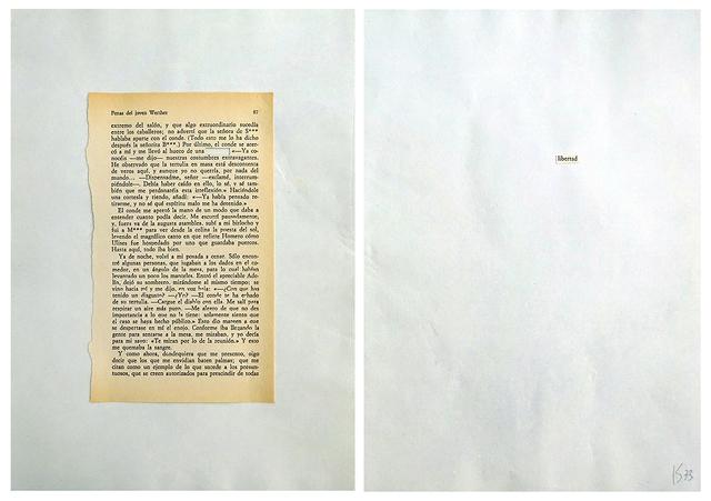 , 'Desplazamineto 3,' 1973, RocioSantaCruz