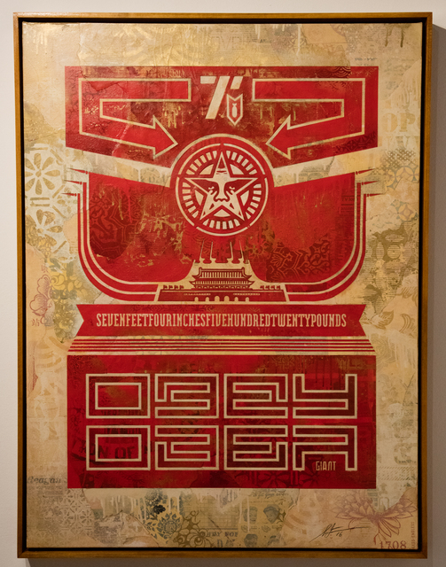 , 'Chinese Banner,' 2016, Over the Influence
