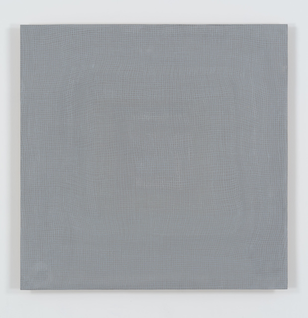 , 'Glory Hole (grey on grey) roygbiv,' 2010, Bortolami