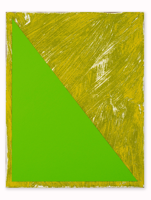 , 'Untitled (Triangle Painting #15),' , CORDESA