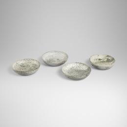 bowls, set of four