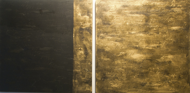 , 'Gold Black,' 2013, Galleria Ca' d'Oro