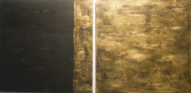 , 'Gold Black,' 2013, Galleria Ca' d'Oro
