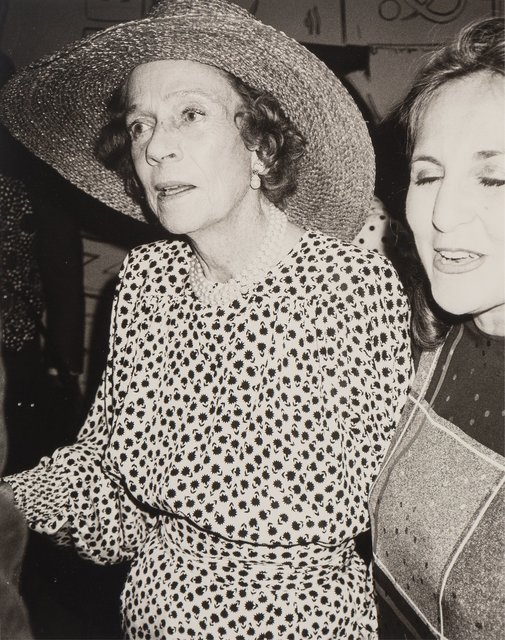 Andy Warhol, 'Brooke Astor', 1985, Photography, Gelatin silver, Heritage Auctions