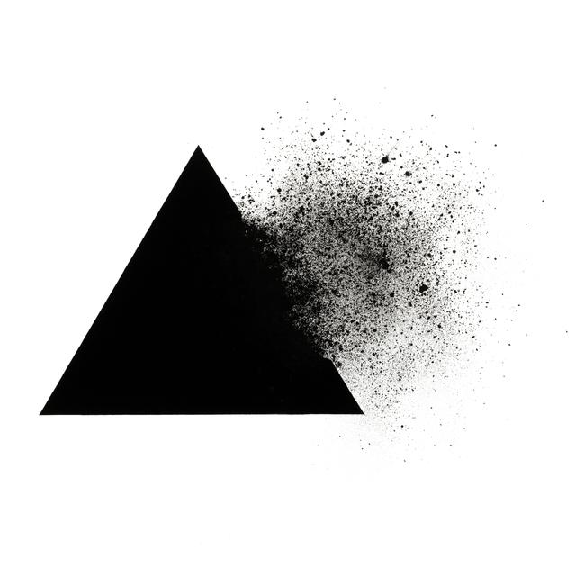 , 'Triangle 1701,' 2017, Puerta Roja