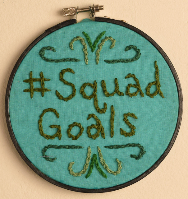 , 'Squad Goals,' 2018, Fountain House Gallery