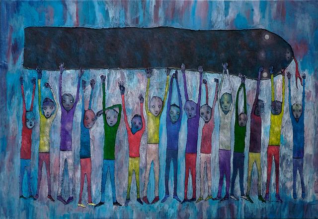 , 'Work in Progress,' 2018, One Off Contemporary Art Gallery