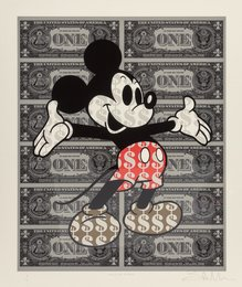 Monster Mickey XL (Gold Leaf Shoes)