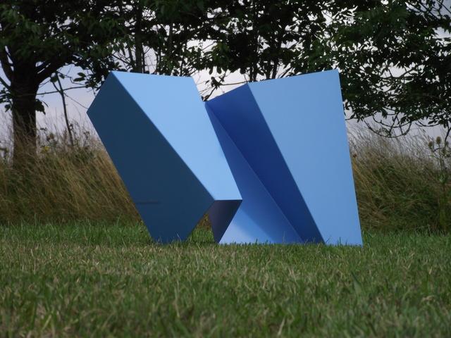 Roger Stevens, 'Folded blue', Cadogan Contemporary