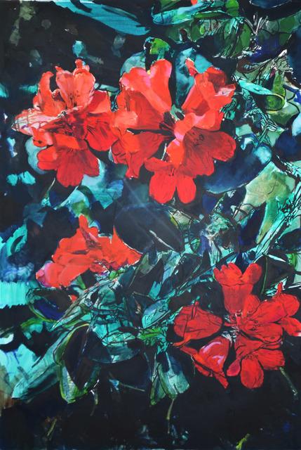 , 'Spring (Green Red),' 2017, Aki Gallery
