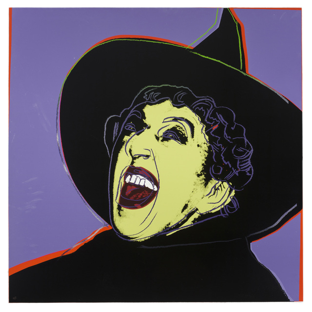 Andy Warhol, 'The Witch', 1981, Print, Color screenprint with diamond dust on Lenox Museum Board, John Moran Auctioneers