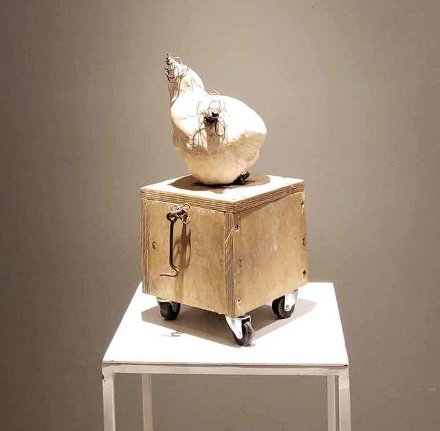 , 'Self no wings, no legs, no limits (Individu pas d'ailes, pas d'jambes, pas de limites),' 2019, Galerie Blanche