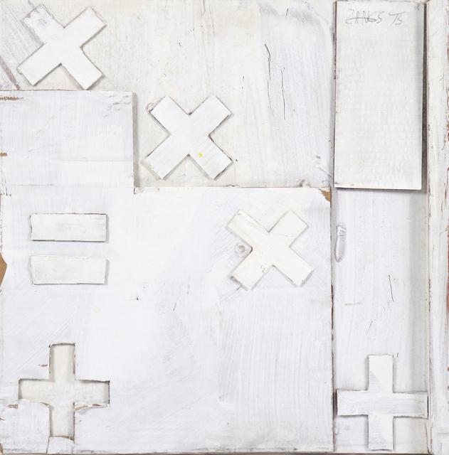 Herbert Zangs, 'Rechenzeichen', 1975, e.artis contemporary