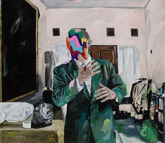, 'Odd Pose in Livingroom,' 2018, Artspace Warehouse