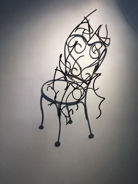 , 'Garden Chair,' ca. 2017, M.A. Doran Gallery