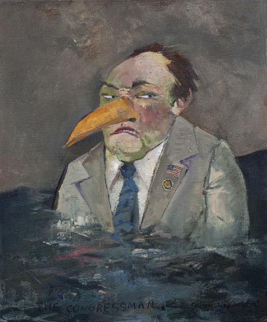 , 'The Congressman,' 2018, Arthur Roger Gallery