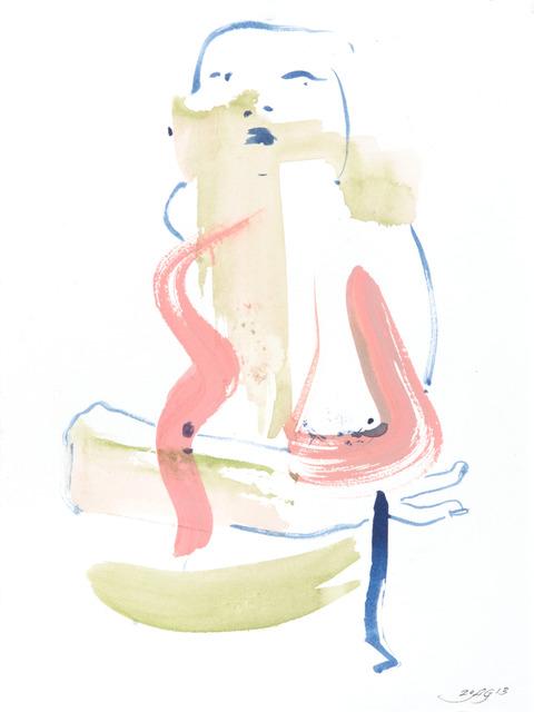 , 'Vertical Mini Drama II:k,' 2013, Moskowitz Bayse