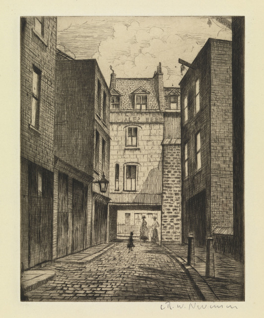 , 'Manette Street,' 1926/27, Osborne Samuel