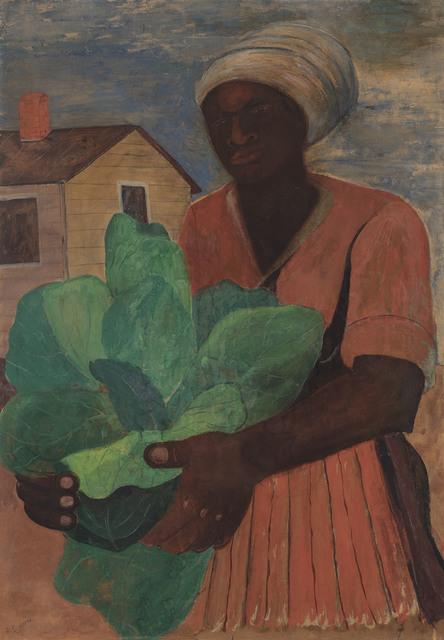 , 'Untitled (Harvesting Tobacco),' c.1940, Michael Rosenfeld Gallery